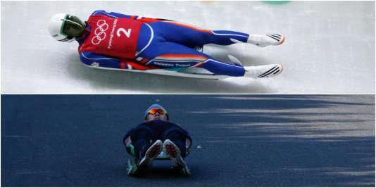 La version olympique est celle sans les petites roues.