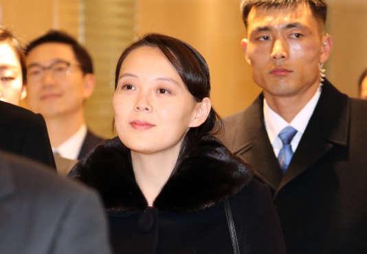 Kim Yo-jong, à Incheon (Corée du Sud), vendredi 9 février.