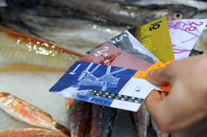 Au Pays basques,l'équivalent de 750000euros en eusko esten circulation. C'est laprincipale monnaie locale française.