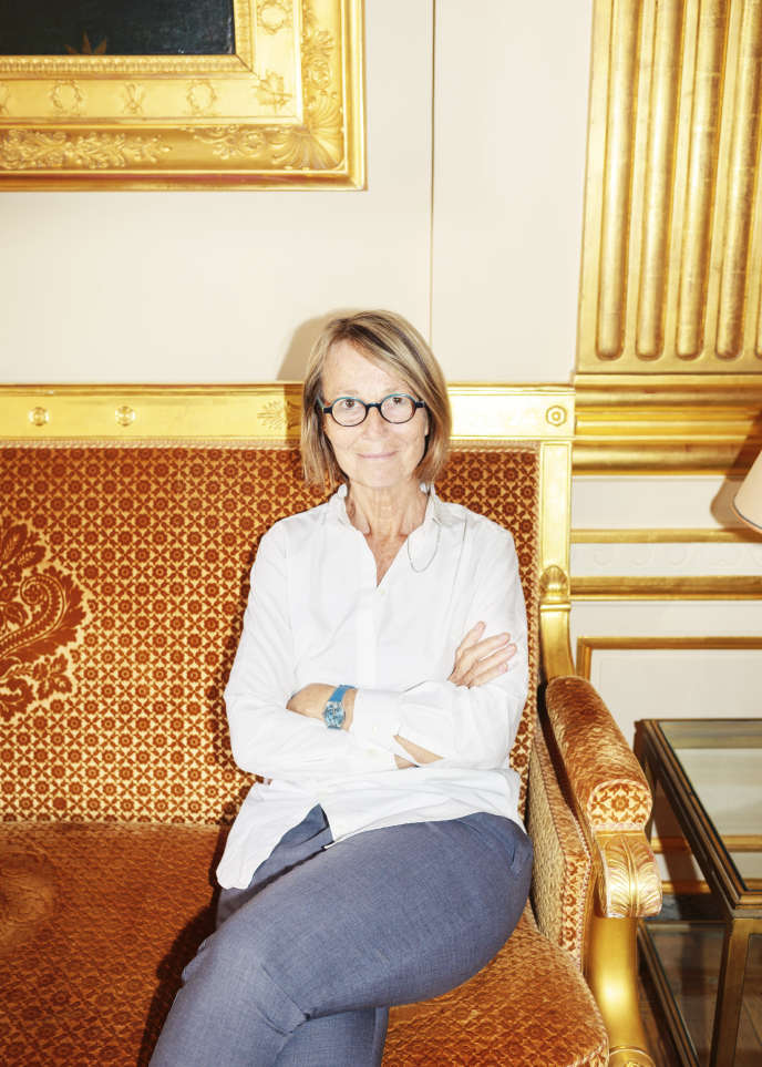 La ministre de la culture Françoise Nyssen, à Paris, le 29 mai 2017.