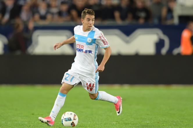 Maxime Lopez, en 2017 à Bordeaux.