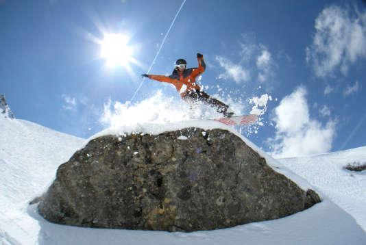 Le freeride et les sports extrêmes, stars des Natural Games d'Avoriaz.