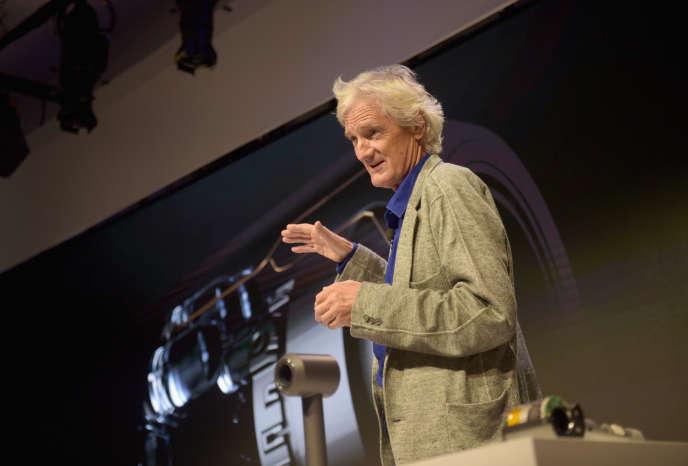 James Dyson, en septembre 2016 à New York. Jason Kempin/Getty Images for Dyson/AFP
