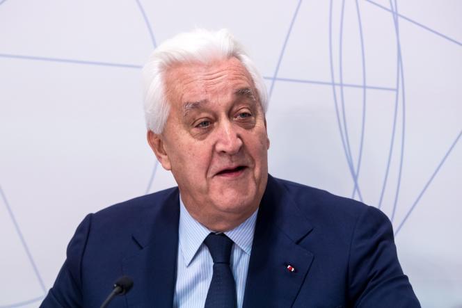 Laurent Burelle, PDG de l'équipementier automobile Plastic Omnium et président de l'Association française des entreprises privées, à Paris, le 29 septembre 2016.