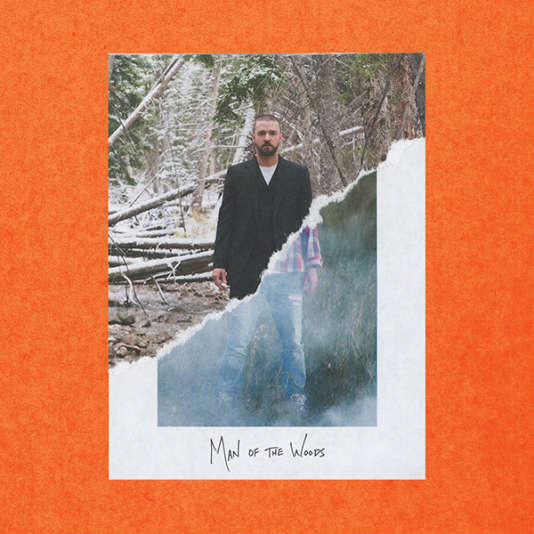 Pochette de l'album « Man of the Woods », de Justin Timberlake.