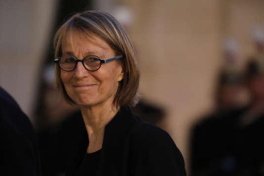 La ministre de la culture, Françoise Nyssen, à Paris, le 30 janvier 2017.