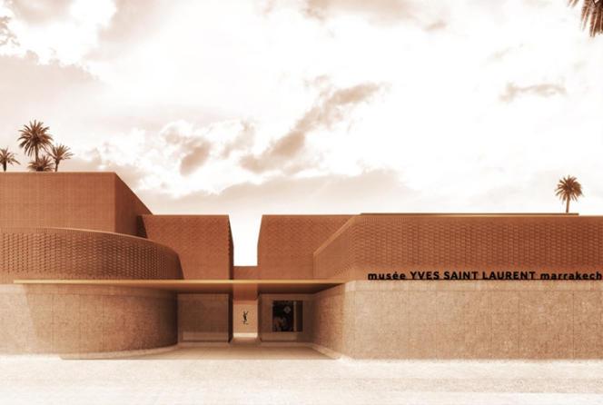 Musée Yves-Saint-Laurent Marrakech.