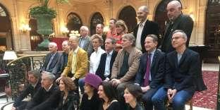 Au déjeuner« L'Express»- RTL des auteurs des livres les plus lus de l'année, le 5 février 2018.