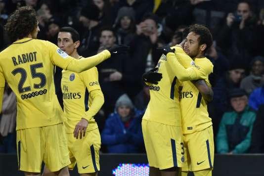 Neymar auteur du but victorieux face à Toulouse, le 10 février.