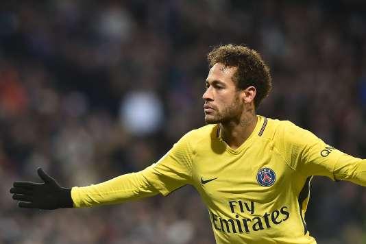Neymar, le 10 février, à Toulouse.