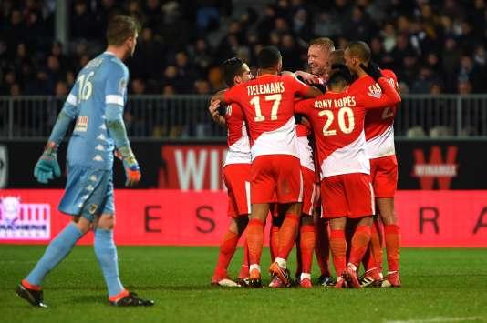 Monaco s'impose facilement à Angers.