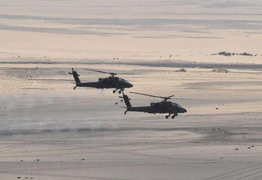 Les hélicoptères, notamment militaires, peuvent voler à très basse altitude.