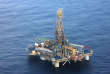 """RESTRICTED TO EDITORIAL USE - MANDATORY CREDIT """"AFP PHOTO / HO / PIO"""" NO MARKETING NO ADVERTISING CAMPAIGNS DISTRIBUTED AS A SERVICE TO CLIENTS A picture released by the offical Cypriot Press Information Office (PIO) on November 21, 2011, shows the Noble's """"Homer Ferrington"""" platform , where exploration drilling for hydrocarbons is taking place. US-based Noble Energy is drilling in the island's Exclusive Economic Zone (EEZ) to locate possible hydrocarbons in block 12, some 180 (115 miles) kilometres off the south coast. AFP PHOTO/PIO/CHRISTOS AVRAAMIDES / AFP PHOTO / PIO / CHRISTOS AVRAAMIDES"""