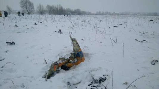 La carlingue de l'appareil serait disséminée sur environ un kilomètre. Plus de 150 personnes et 20 véhicules de secours se sont rendus sur place.