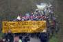 Rassemblement d'opposants au projet d'aéroport de Notre-Dame-des-Landes (Loire-Atlantique), le 10 février.