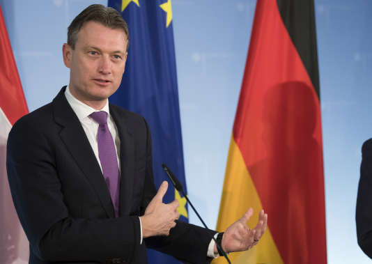 Le ministre néerlandais des affaires étrangères, Halbe Zijlstra, à Berlin, en novembre 2017.
