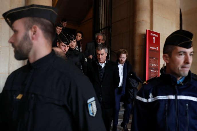 Jérôme Cahuzac lors de son procès en appel, le 12 février 2018.