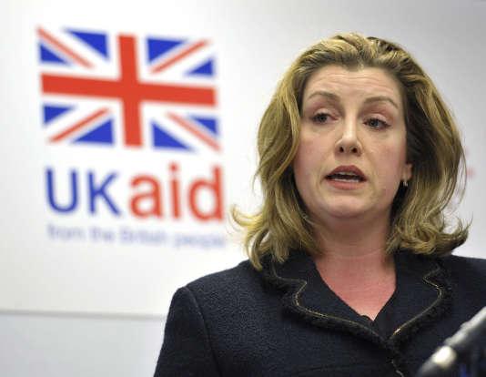 La secrétaire britannique au développement international, Penny Mordaunt, le 12février.