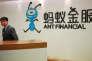 Au siège du groupe de services fianciers Ant Financial,à Hangzhou, en Chine, en janvier.