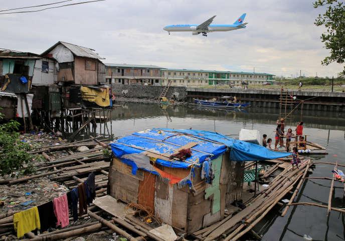 A Parañaque, près de Manille, aux Philippines, le 11 janvier.