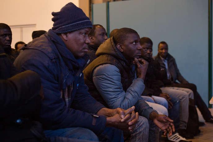 Siège de la CGT, Montreuil, 11 février 2018. Réunion préparatoire de la grève lancée le 12 afin de régulariser les sans-papiers de six entreprises de la région parisienne.