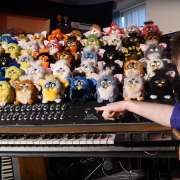 Orgue à Furbies
