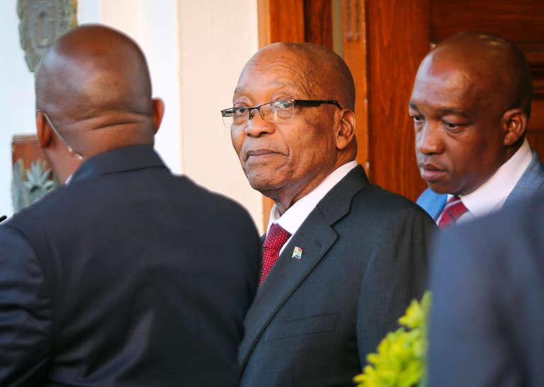 Le président Jacob Zuma, au Cap (Afrique du Sud), le 7 février.