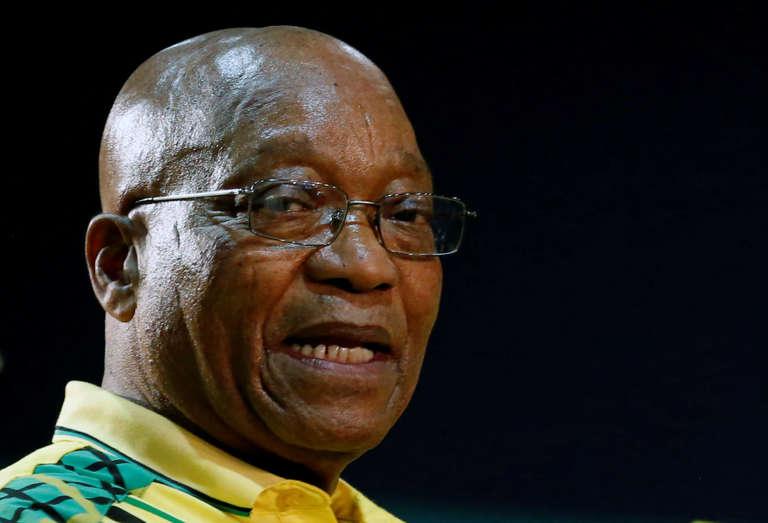 Le président sud-africain Jacob Zuma, à Johannesburg, le 16 décembre 2017.