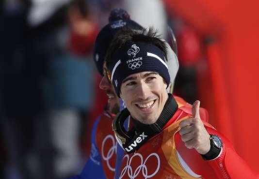 Victore Muffat-Jeandet, mardi 13 février. REUTERS/Christian Hartmann