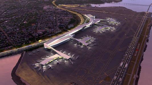 Le projet de nouvel aéroport LaGuardia de New York.
