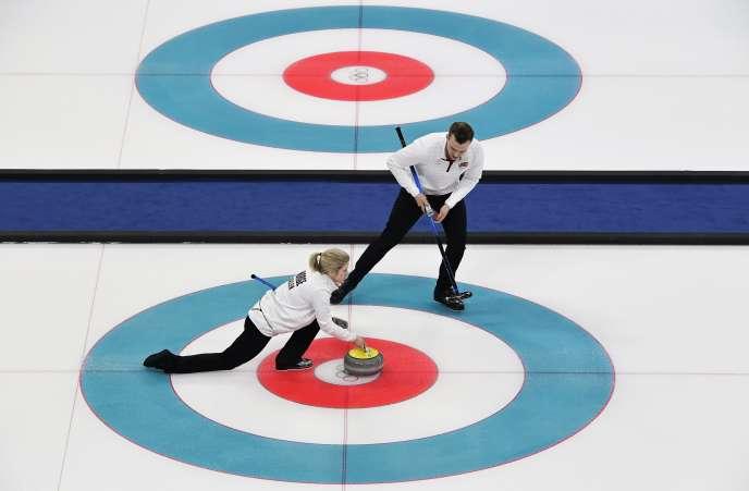 A Pyeongchang, une épreuve mixte de curling a été intégrée au programme des Jeux.