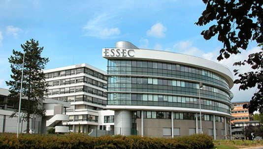 Le campus de l'Essec, à Cergy, en régiuion parisienne