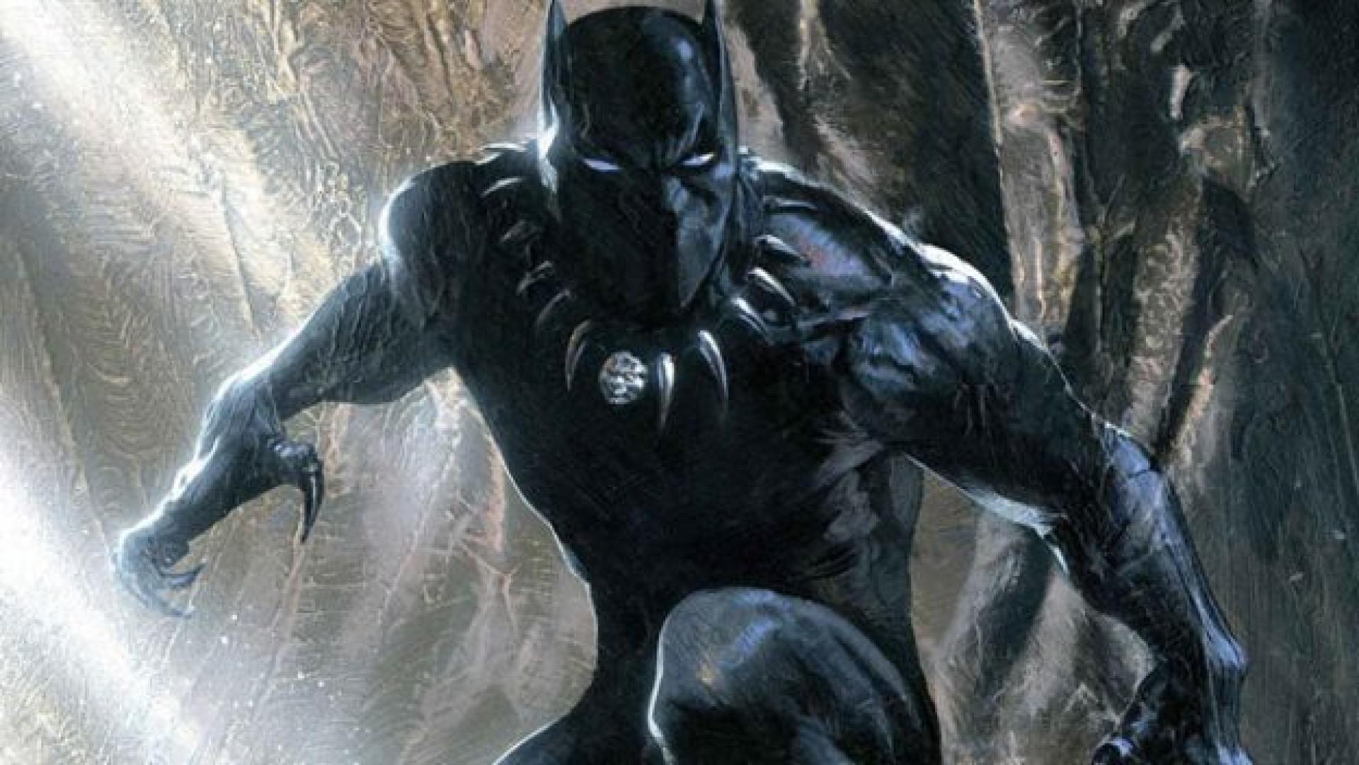 «Black Panther», par Gabriele Dell'Otto.