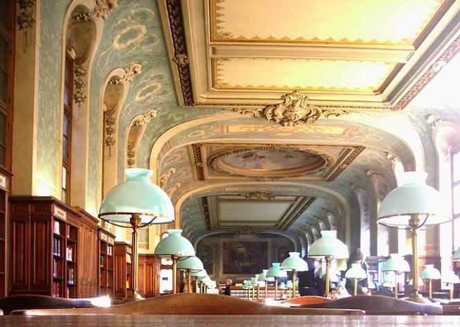 Bibliothèque de la Sorbonne, salle Saint-Jacques.