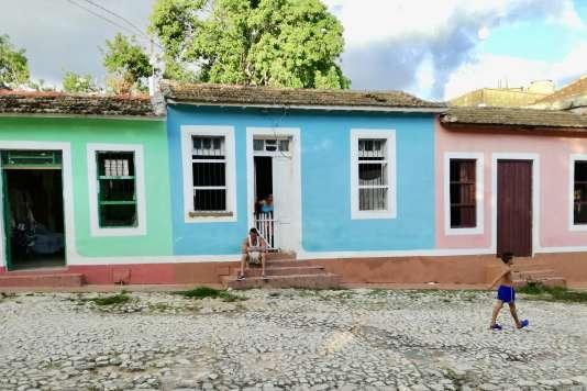 Les façades repeintes de Trinidad.