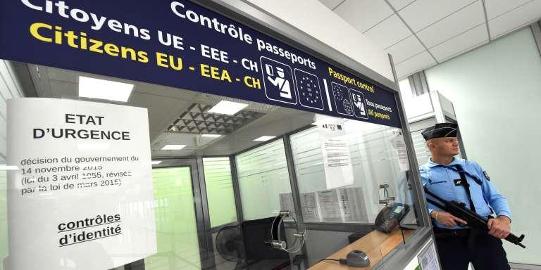 Aéroport de Montpellier, dans le sud de la France, en novembre 2015.