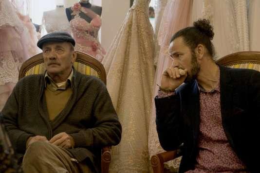 Mohammad et Saleh Bakri dans«Wajib, l'invitation au mariage», film palestinien d'Annemarie Jacir.