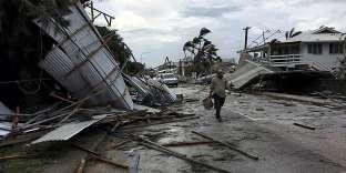 Le cyclone Gita a fait de nombreux dégâts lors de son passage près des îles Tonga, le 13 février.