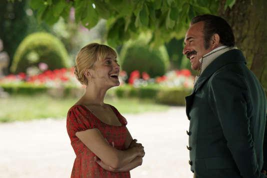 Mélanie Laurent etJean Dujardin dans« Le Retour du héros», film français de Laurent Tirard.