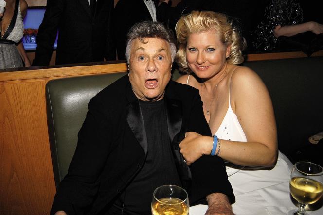 Tony Curtis et sa dernière épouse Jill Vandenberg Curtis.