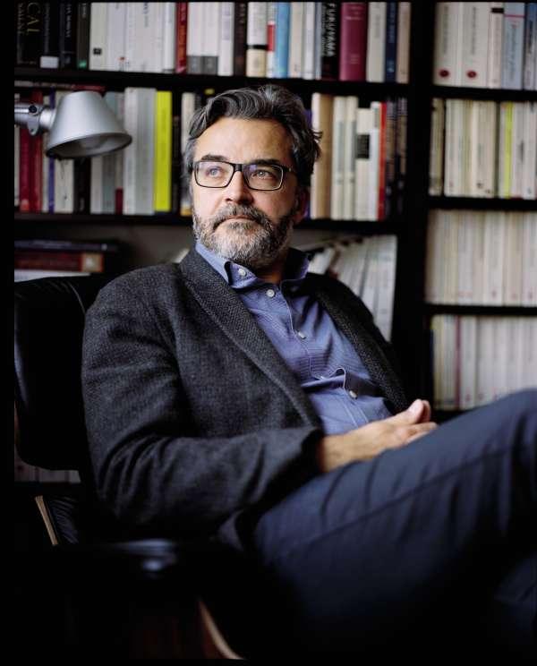 Laurent Bouvet, chez lui, à Paris, le 9 février.