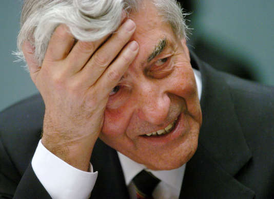 Ruud Lubbers , le 4 octobre 2004.