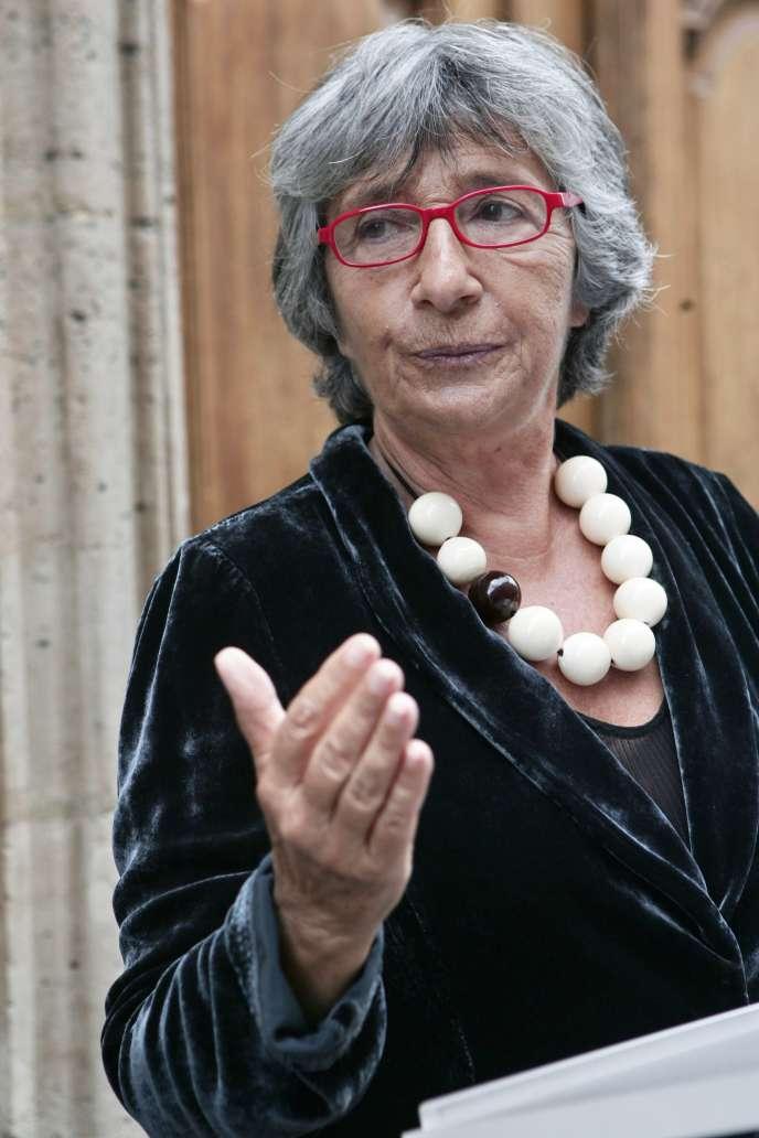 Françoise Xenakis, à Paris, en 2006.