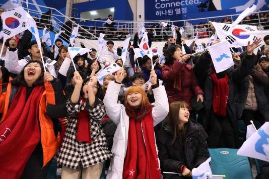 Rien de tel qu'un bon Corée-Japon de hockey pour susciter un peu de ferveur nationaliste.