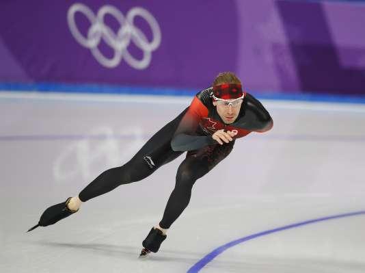 Ted-Jan Bloemen, dont le père était nord-américain, a choisi la nationalité canadienne pour pouvoir participer aux Jeux Olympiques. REUTERS/Phil Noble