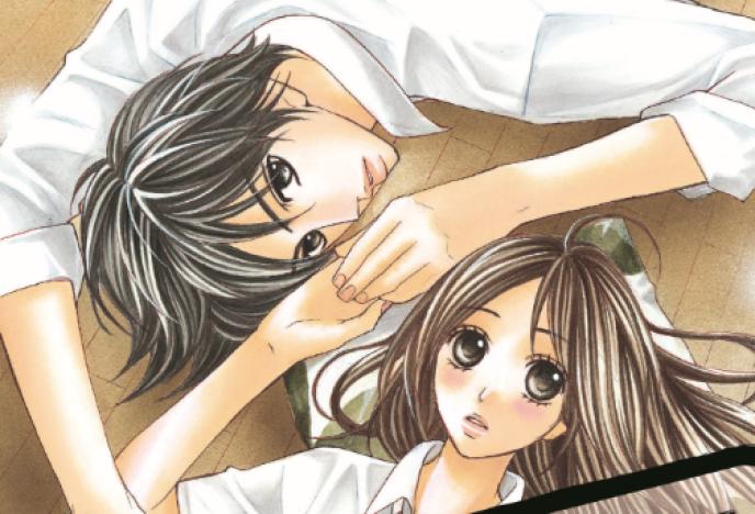Extrait d'une couverture du manga shojo «L-DK».