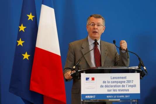 Le directeur général des finances publiques, Bruno Parent, le 13 avril 2017 à Paris.