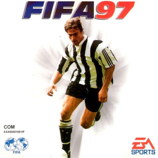 David Ginola, star du PSG dans les années 1990, a dû attendre de rejoindre Newcastle pour figurer sur une jaquette de «FIFA».