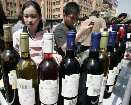 La Chine est le deuxième consommateur de vins et spiritueux français.