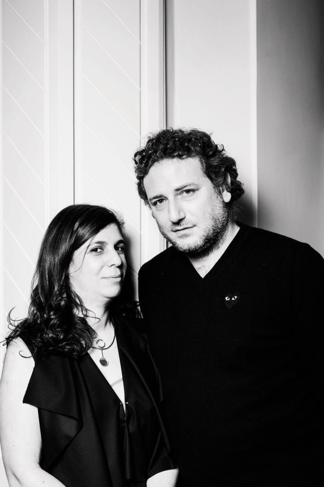 Liza Asseily et son époux Ziad.